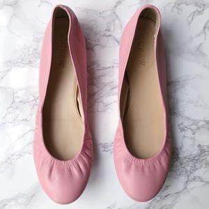 J. Crew Pink Cece Ballet Flats
